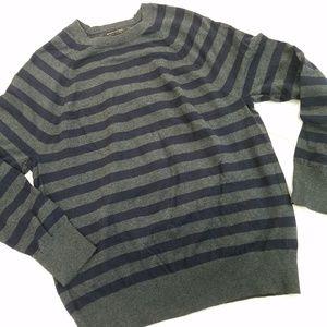 Banana Republic Mens Large Cotton Cashmere Sweater